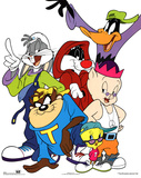 Looney Tunes Bugs Bunny and Friends Hip-Hop Prints