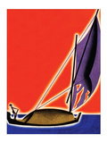 Under Sail Posters by Frank Mcintosh