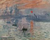 Impression Rising Sun Posters por Claude Monet
