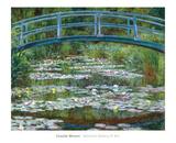 The Japanese Footbridge, c.1899 高画質プリント : クロード・モネ
