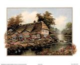 Riverside Cottage I Posters