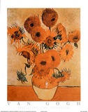 Sunflowers Les Tournesols Affiches par Vincent van Gogh