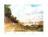 Promenade a Argenteuil Pôsters por Claude Monet