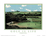 Golf is Life Nothing Else Matters Motivational Plakat