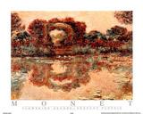Flowering Arches Arceaux Fleuris Poster van Claude Monet