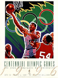 Olympic Basketball, c.1996 Atlanta Fotografia por Hiro Yamagata