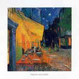 Pavement Cafe at Night Plakater av Vincent van Gogh