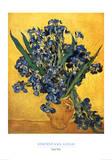 Les Iris Affischer av Vincent van Gogh