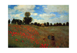 Wild Poppies Pósters por Claude Monet