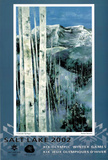 Cascade Springs Salt Lake City 2002 Olympics Affiches par Susan Swartz