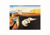 La persistance de la mémoire Affiches par Salvador Dalí