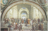 The School of Athens Posters av Raphael,