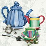 Thé Tea II Affiche