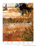 Garden in Arles Jardin a Arles Prints by Vincent van Gogh