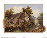 Riverside Cottage I Prints