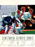 Olympic Hockey Lacrosse Atlanta, c.1996 Plakater av Hiro Yamagata