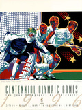 Olympic Hockey Lacrosse Atlanta, c.1996 Pôsters por Hiro Yamagata