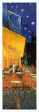 Pavement Cafe at Night Detail Posters av Vincent van Gogh