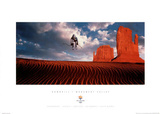 Downhill Monument Valley 2002 Salt Lake City Olympics Poster