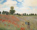 Vallmor Posters av Claude Monet