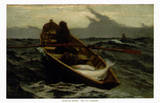 The Fog Warning Posters by Winslow Homer