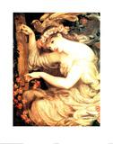 Sea Spell Bilder av Dante Gabriel Rossetti