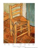 The Chair, c.1888 Plakater av Vincent van Gogh