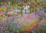 Garden at Giverny Posters by Claude Monet