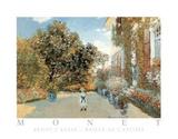 Artist's House Maison de L'Artiste Poster von Claude Monet