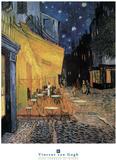 Cafe Terrace at Night Plakater av Vincent van Gogh
