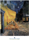 Cafe Terrace at Night Posters by Vincent van Gogh