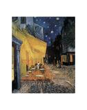 Cafe Terrace at Night Posters av Vincent van Gogh