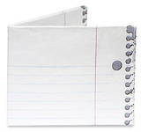 3 Ring Binder Tyvek Mighty Wallet Cartera