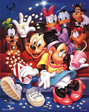 Mickey Mouse and Friends At the Movies Stampe