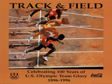 Track & Field Celebrating 100 Years U.S. Olympic Team Posters by Bert Forbes
