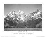 Grand Teton nationalpark Affischer av Ansel Adams