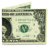 Bolsillo Medio Dólar Ron English Tyvek Mighty Cartera