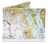 Explorer Map Tyvek Mighty Wallet Portefeuille