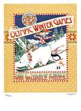2002 Winter Olympics Get Cold & Wet Salt Lake City Julisteet