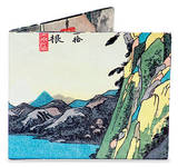 Utagawa Hiroshige Tyvek Mighty Wallet Portafoglio