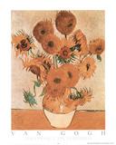 Sunflowers Les Tournesols Posters par Vincent van Gogh