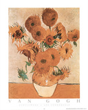 Sunflowers Les Tournesols Poster von Vincent van Gogh