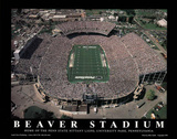 Penn State Nittany Lions Beaver Stadium NCAA Sports Poster von Mike Smith