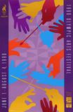 Atlanta, c.1996 Olympic Arts Festival Hands Conducting Poster