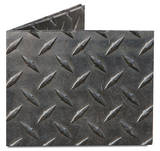 Diamond Plate Tyvek Mighty Wallet Pung
