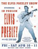 Elvis Presley Show Concert Tin Sign