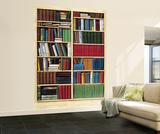 Bibliotheque Library Huge Wall Mural Poster Print Mural de papel de parede
