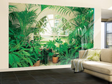Winter Garden Landscape Huge Wall Mural Art Print Poster Wallpaper Mural