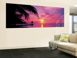 Montego Bay Panoramic Huge Wall Mural Door Poster Art Print Mural de papel de parede