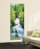 Wonderfall Waterfall Giant Mural Poster Mural de papel de parede